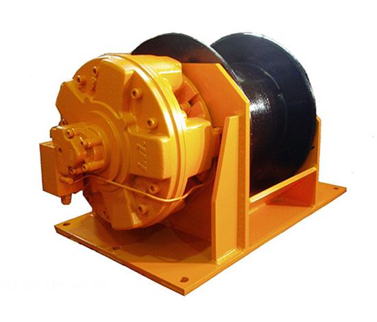 旋挖钻机液压绞车